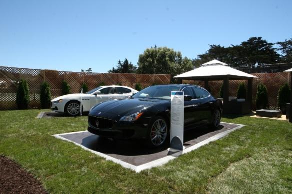 Maserati Ghibli at Pebble Beach.